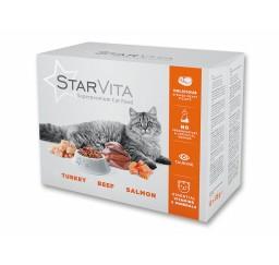 Влажный корм StarVita 12х85...