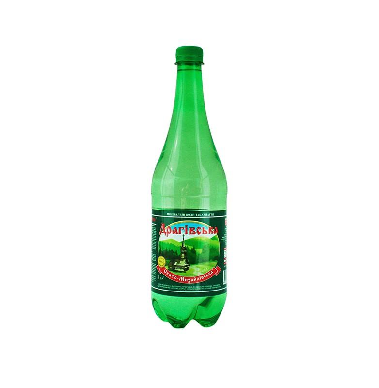 Минеральная газированная вода драговская 1 л