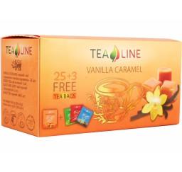 Чай TeaLine ваниль-карамель
